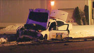UPDATE: 1 critical after crash involving state trooper at Ireland, Linden