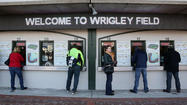 Wrigley Field Cubs single game tickets