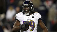 Inside linebacker Dannell Ellerbe still hopes to re-sign with Ravens