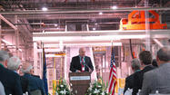 HARRODSBURG — Attended by business men and women from around the world, Wausau Paper officially unveiled its newest expansion, priced at about $220 million, Thursday at its Harrodsburg plant.