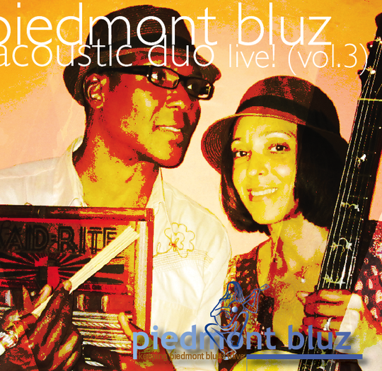 Piedmont Bluz is an duo set to perform at the Hampton Acoustic Blues Revival.