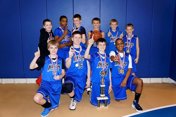 6th Grade Magic Finish Season by Winning the Chicago Ridge League