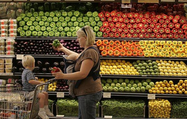 A Whole Foods store in Pasadena. The company has pledged to label all genetically modified organisms, or GMO products, within five years.