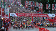 There were 36,000 entries for the remaining 15,000 spots when the lottery entry period for the 2013 Bank of America Chicago Marathon closed Thursday night.