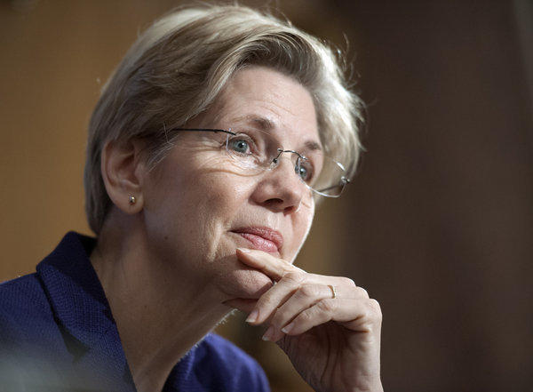 Sen. Elizabeth Warren (D-Mass.) had harsh criticism for U.S. regulators at a Senate Banking Committee hearing Thursday.