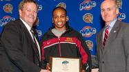 Evans alum and current Iona freshman Joy Adams was named the Metro Atlantic Athletic Conference's Rookie of the Year Thursday evening.