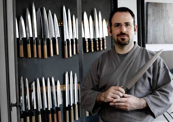 "Jonathan Broida says, ""I'm trying to create a community of knife geeks"" in Los Angeles."