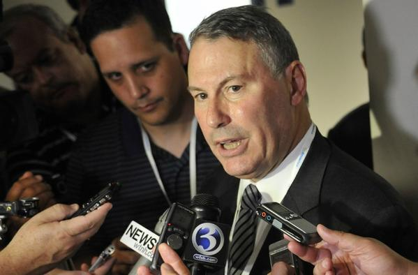 """""""We have not chosen a new conference name at this time and there are no favorites,"""" Big East Commissioner Mike Aresco says."""