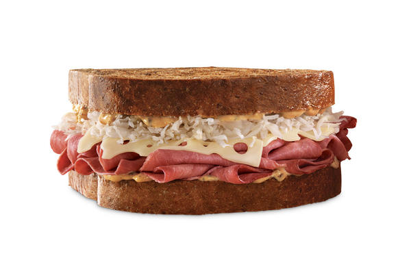 Go to Arby's Website, www.Arbys.com March 11 to get a buy-one-get-one-free coupon for a Classic Reuben.