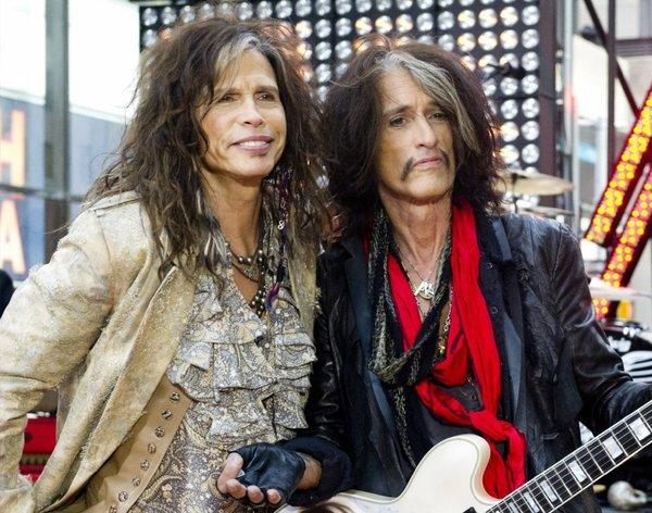 Aerosmith's Steven Tyler, left, and Joe Perry.
