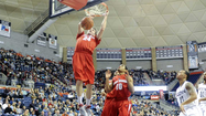 30-second timeout with ... Tommy Brenton, Stony Brook men's basketball guard