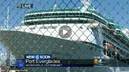 "<a href=""http://www.royalcaribbean.com"" target=""_blank"">Royal Caribbean International's</a> cruise ship Vision of the Seas arrived at <a href=""http://www.porteverglades.net"" target=""_blank"">Port Everglades</a> early Friday after several passengers and crew aboard had reported symptoms of gastrointestinal illness during a 11-night Caribbean cruise."