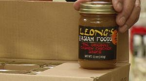 Leong's famous cashew chicken sauce coming to a grocery store near you