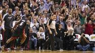 Sunday notes: With Dwyane Wade, Chris Bosh at ease, it has been easy for the Heat recently. Also: Knicks admit mistakes vs. Heat; updates on Harrellson, Curry; J.J.'s shrinking flagrant.