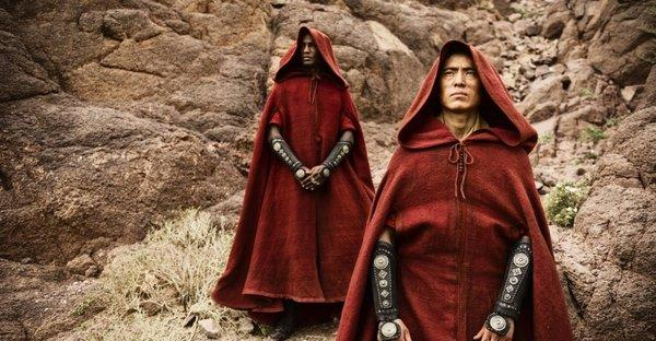 """Guardian and Warrior Angels visit Abraham in """"The Bible"""" airing Sundays through Easter on the History Channel."""