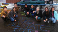 Glenbard West students send powerful message regarding safe driving