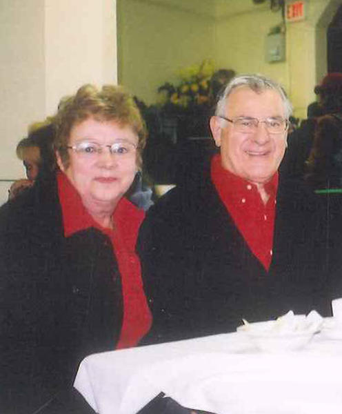 Aldo Guidolin and his wife, Phyllis, are pictured at an event last year.