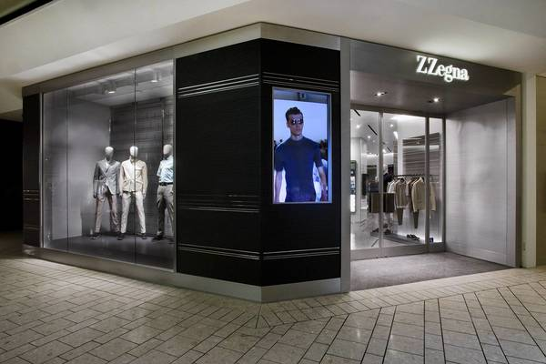 Z Zegna is opening its first North American standalone store in the Beverly Center in Los Angeles.
