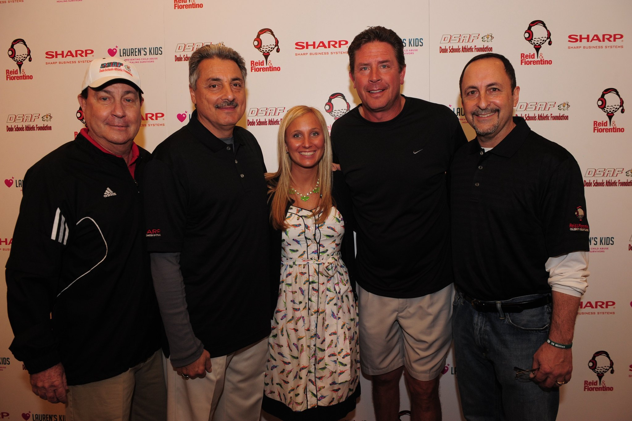 Celeb-spotting around South Florida - Harold Cole, Fiorentino, Lauren Book, Dan Marino and Eric Reid