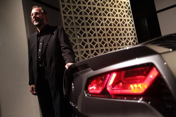 Kirk Bennion is the designer of the new Corvette C-7 Stingray.