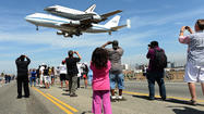 """Mission 26: The Big Endeavour,"" an exhibit of space shuttle photographs"
