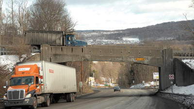The Pennsylvania Department of Transportation will begin construction in April on the Route 281 bridge that spans Route 30 near Stoystown.