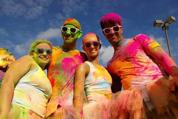 The 5K Graffiti Run bills itself as friendly to all, runners or not.