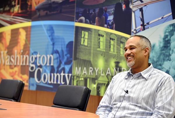 James Jenkins is the Public Relations and Community Affairs Manager for Washington County in their new office location at 120 W. Washington St. in Hagerstown.