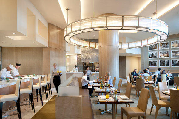The Mozen Bistro at the Mandarin Oriental in Las Vegas is a popular spot for Sunday brunch.