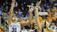 Kentucky continued to use its recently successful five-for-five substitution pattern, and the Cats cruised to a 76-65 victory over Vanderbilt in the SEC tournament quarterfinals in Duluth, Ga.