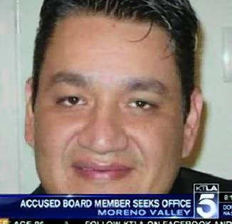 Mike Rios, a Moreno Valley school board member who was convicted of running a prostitution ring out of his home, was sentenced Friday to 14 years in state prison.