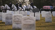 Civil War sailors laid to rest, 151 years later