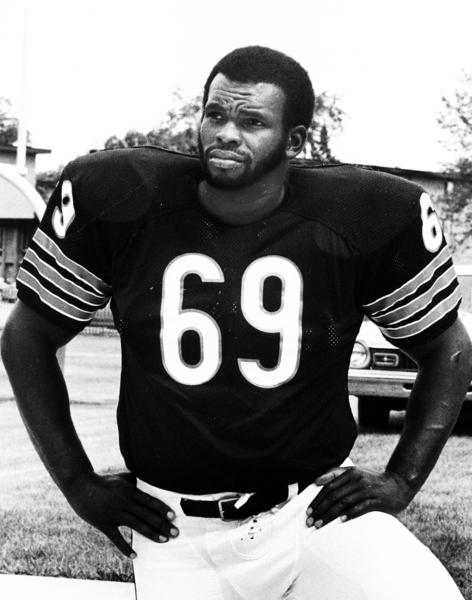 The Bears' Revie Sorey in the 1970's.