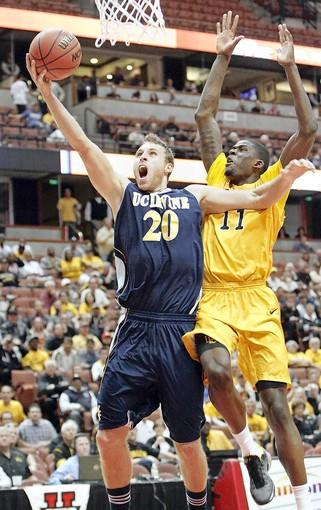 Adam Folker (20), has worked hard to become a productive offensive factor for UC Irvine.