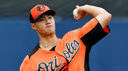 Orioles' lefty Wei-Yin Chen threw 51 pitches (33 strikes) Friday in an exhibition start against the Pittsburgh Pirates that lasted 2 1/3 innings. His fastball sat between 89 and 91 mph and with the exception of his command – especially his slider – he looked pretty solid for this time of year.