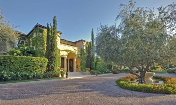 Armand Marciano's Beverly Hills estate occupies 20 acres.