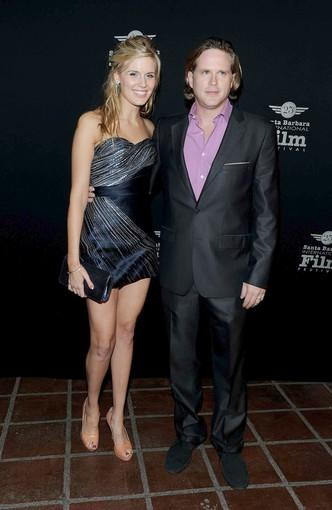 "Grace and Elwes arrive at the screening of ""Flying Lessons,"" in which they star."