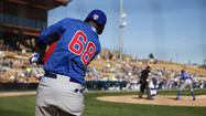 MESA, Ariz. -- In his first big league camp, 20-year-old <strong>Javier Baez</strong> is making things look easy.