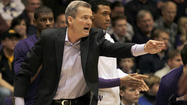 Bill Carmody has elevated Northwestern basketball from Point C to Point B. Or is it Z to B?