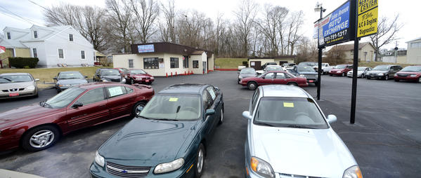 Salem Auto Exchange have to follow  the City of Hagerstown's new zoning rules for small car dealerships.