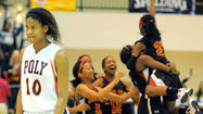No. 8 Poly's comeback halted as North Point takes Class 4A girls title