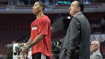Bulls GM Forman: No rift with Rose's camp