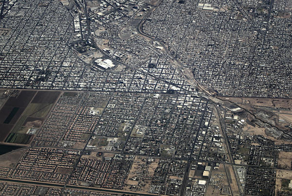 Immigration Reforms First Hurdle Is The Border Secure LA Times - Aerial maps over mexican us border