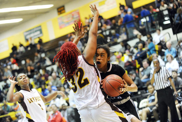 Western Tech vs. Dunbar girls basketball