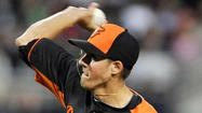 "For the first time in their young careers, Dylan Bundy and Kevin Gausman – the club's top picks in the 2011 and 2012 drafts – <a href=""http://www.baltimoresun.com/sports/orioles/blog/bal-kevin-gausman-one-ups-dylan-bundy-in-orioles-win-over-red-sox-20130309,0,266191.story"" target=""_blank"">pitched in the same game</a>, a 5-2 Orioles' victory over the Boston Red Sox at JetBlue Park in Fort Myers, Fla."