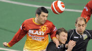 Blast roars past Chicago, returns to MISL championship
