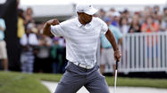 Tiger Woods, the former No. 1 golfer in the world, appears ready to ascend back to the top as he strolls to what looks like another victory in the Cadillac Championship at Doral Golf Resort & Spa in Florida.