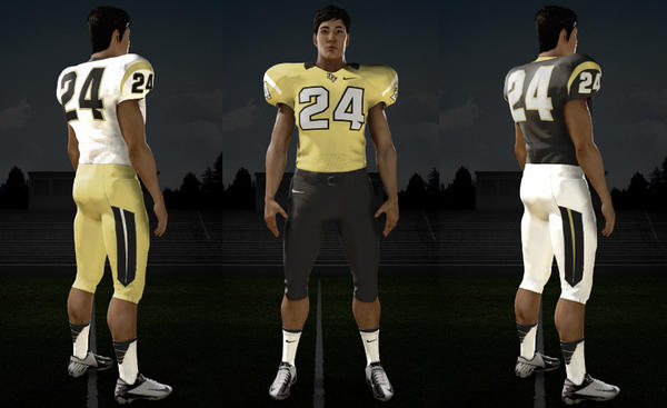 UCF officials worked with Nike to design new football uniforms to help mark the Knights' move from Conference USA to a new a league this summer.