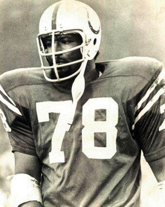 The Colts selected Bubba Smith with the No. 1 overall pick in the NFL-AFL draft on March 14, 1967.