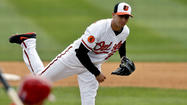 Orioles right-hander Miguel Gonzalez learned on Saturday night that he would be getting the start against the Pittsburgh Pirates on Sunday afternoon because Chris Tillman is dealing with abdomen soreness.